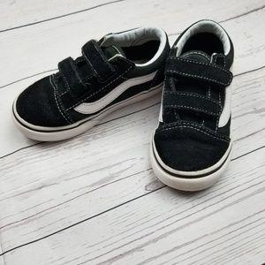 652daaef6353 Vans Old Skool Classic Stripe Toddler Size 8.5